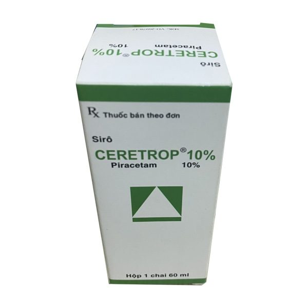 Hộp thuốc CERETROP 10%