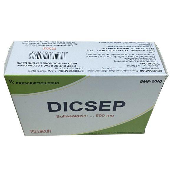Hộp thuốc Dicsep