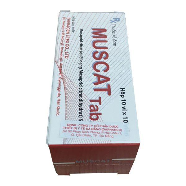 Hộp thuốc Muscat Tab