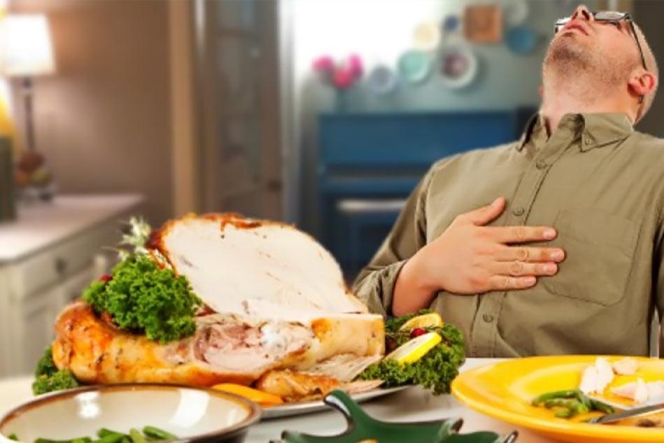 Ăn quá no cũng có thể gây ra cơn nấc cụt